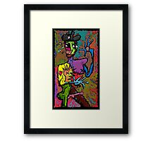 There's A New Sheriff In Town. Framed Print