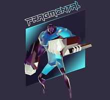 FRAGMENTAL BLUE CHARACTER BY RUFFIAN GAMES Unisex T-Shirt