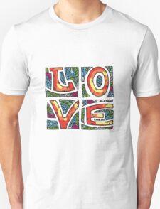 Love Alphabet Unisex T-Shirt