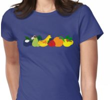 The Fruit Cats Womens Fitted T-Shirt