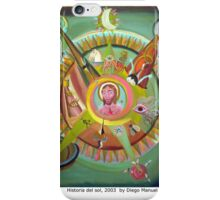 La historia del sol by Diego Manuel iPhone Case/Skin