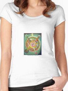 La historia del sol by Diego Manuel Women's Fitted Scoop T-Shirt
