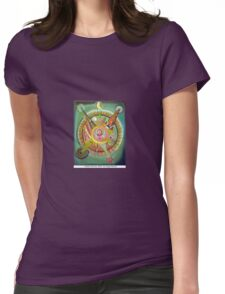 La historia del sol by Diego Manuel Womens Fitted T-Shirt