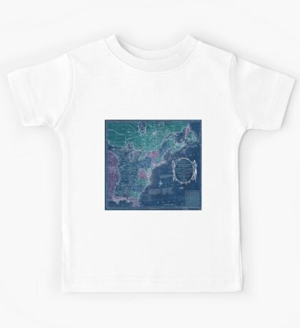 American Revolutionary War Era Maps 1750-1786 350 Bowles's new pocket map of the United States of America the British possessions of Canada Nova Scotia and Inverted Kids Tee