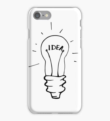 Idea lamp iPhone Case/Skin