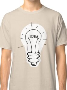 Idea lamp Classic T-Shirt