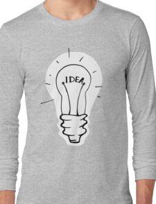 Idea lamp Long Sleeve T-Shirt