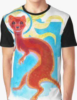 Enlightenment Weasel Graphic T-Shirt