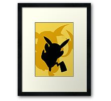 Pokemon- Pikachu and Riachu Framed Print