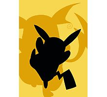 Pokemon- Pikachu and Riachu Photographic Print