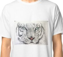 whit tiger Classic T-Shirt