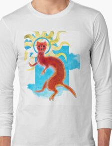 Enlightenment Weasel Long Sleeve T-Shirt