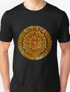 Aztec color calendar  Unisex T-Shirt