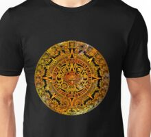 Aztec color calendar  Unisex T-Shirt