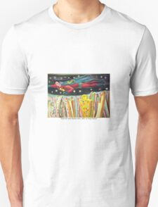 Superman sobre Buenos Aires by Diego Manuel Unisex T-Shirt