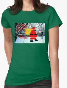 HAPPY NEW YEAR 18 Womens Fitted T-Shirt