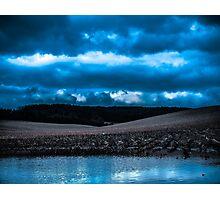 The Mildenhall Flats Photographic Print
