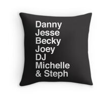 Full House characters Throw Pillow