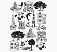 Charleston Style  One Piece - Short Sleeve