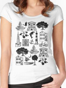 Charleston Style  Women's Fitted Scoop T-Shirt