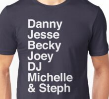 Full House characters Unisex T-Shirt
