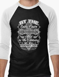 ANZAC DAY Men's Baseball ¾ T-Shirt