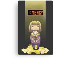 Undertale- Mercy Canvas Print
