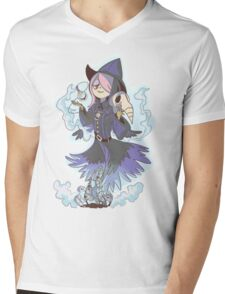 Susy the Crow ( Clear BG)  Mens V-Neck T-Shirt