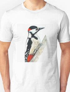 Woodpecker - Wild Birds Unisex T-Shirt