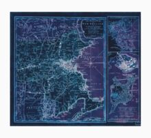 American Revolutionary War Era Maps 1750-1786 940 The Seat of war in New England by an American volunteer with the marches of the several corps sent by the Inverted One Piece - Short Sleeve