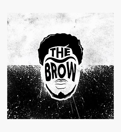 The Brow Photographic Print