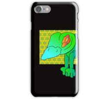 wicked frog  iPhone Case/Skin
