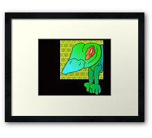 wicked frog  Framed Print