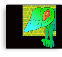 wicked frog  Canvas Print