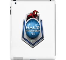 Halo World Championship iPad Case/Skin
