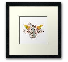 The Angel Framed Print