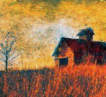 The Rural Sunrise by Brian Gaynor