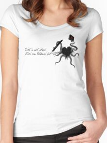 Immortal Lovecraft Women's Fitted Scoop T-Shirt