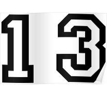 Number Thirteen Poster