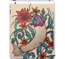 Fish with flower! iPad Case/Skin
