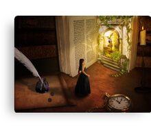 The book of dreams Canvas Print