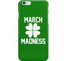 March Madness - St. Patrick's Day iPhone Case/Skin