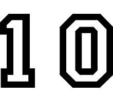 Number Ten Photographic Print