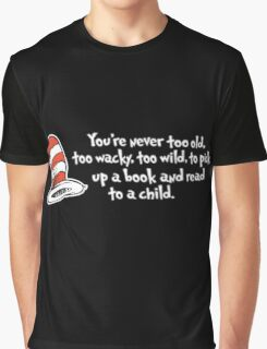 Read Across America Day 2016 - Dr Seuss Graphic T-Shirt