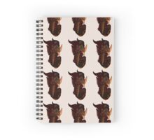 Spiky Dragon Spiral Notebook