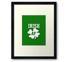 Irish AF Framed Print