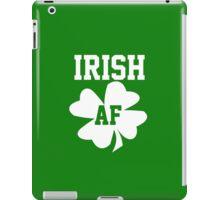 Irish AF iPad Case/Skin
