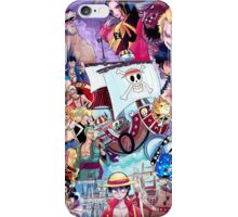 Compilation One Piece iPhone Case/Skin