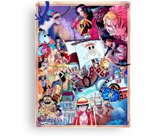 Compilation One Piece Canvas Print