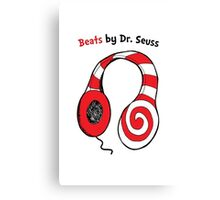 Beats by Dr Seuss - Read Across America Day Canvas Print